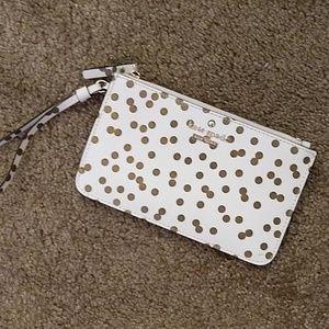 Kate Spade Confetti Dot Wristlet